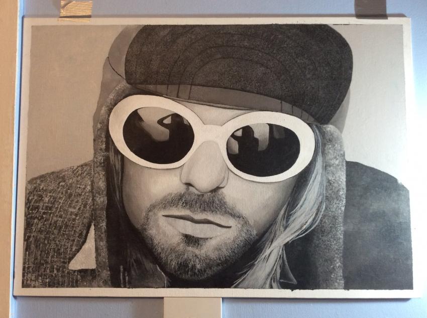 Kurt Cobain by paddysauce